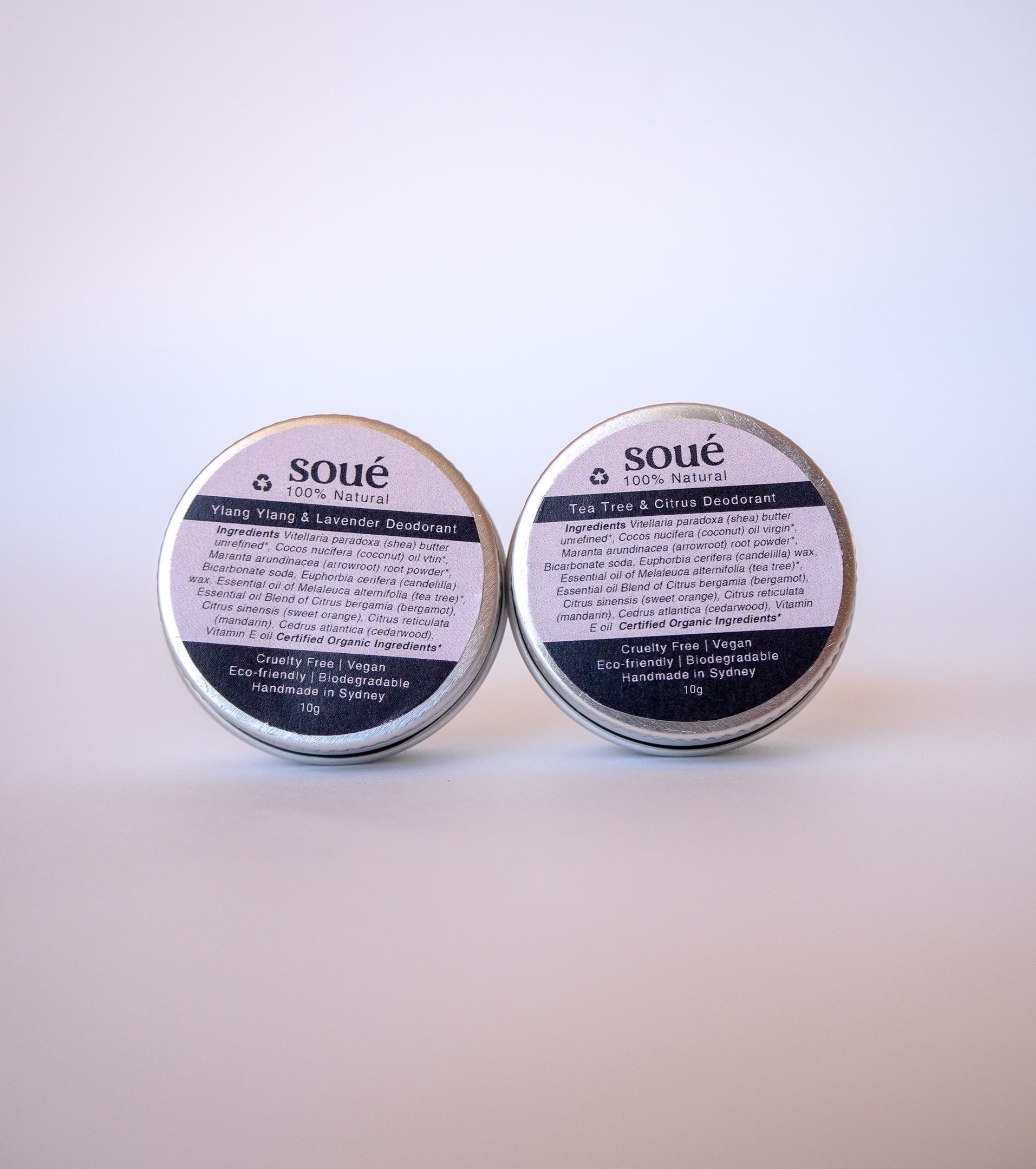 Samples Tea Tree + Ylang Ylang Deodorant - Free Shipping